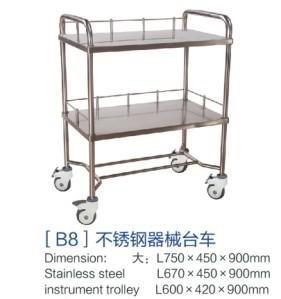 [b8]不锈钢机械台车